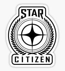 Star Citizen - BLACK Sticker
