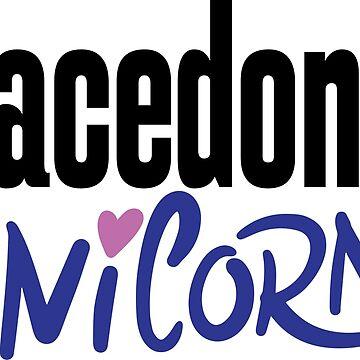 Macedonia Unicorn Macedonian Macedonia Raised Me by ProjectX23