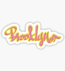 Brooklyn Glossy Sticker