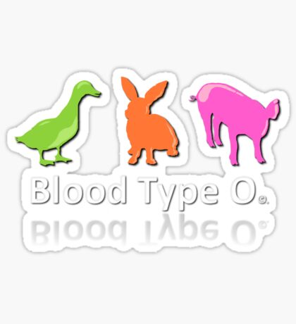 TYPE O Sticker