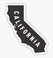 California - My home state Sticker