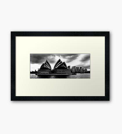 Dark Opera  Framed Print
