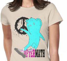 Aftermath kickflip bear Womens Fitted T-Shirt