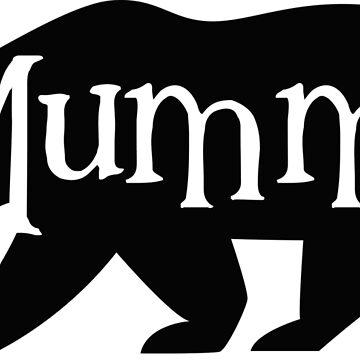Mummy Bear by DeMaggus