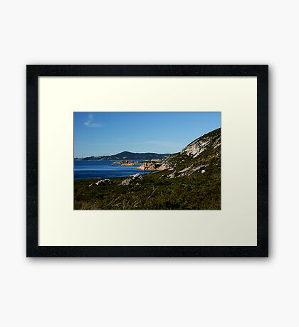 Rocky Cape Framed Print