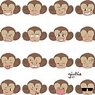 Cutie Monkey by liajung