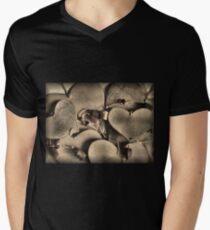 Lots Of Love Mens V-Neck T-Shirt