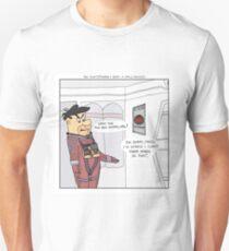 The Flintstones + 2001: A Space Odyssey  T-Shirt