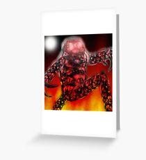 Robot stormtrooper. Greeting Card