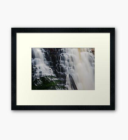Dip Falls Framed Print