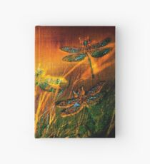 Dragonfly...Towards The Light  Hardcover Journal