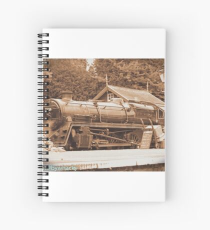 Steam past and present  Spiral Notebook