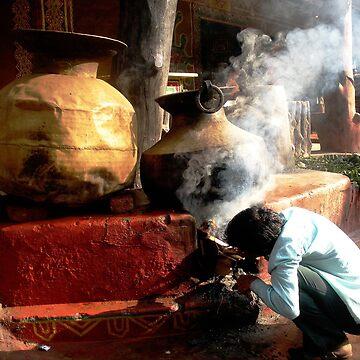 The desi food prepration ! von amritammu