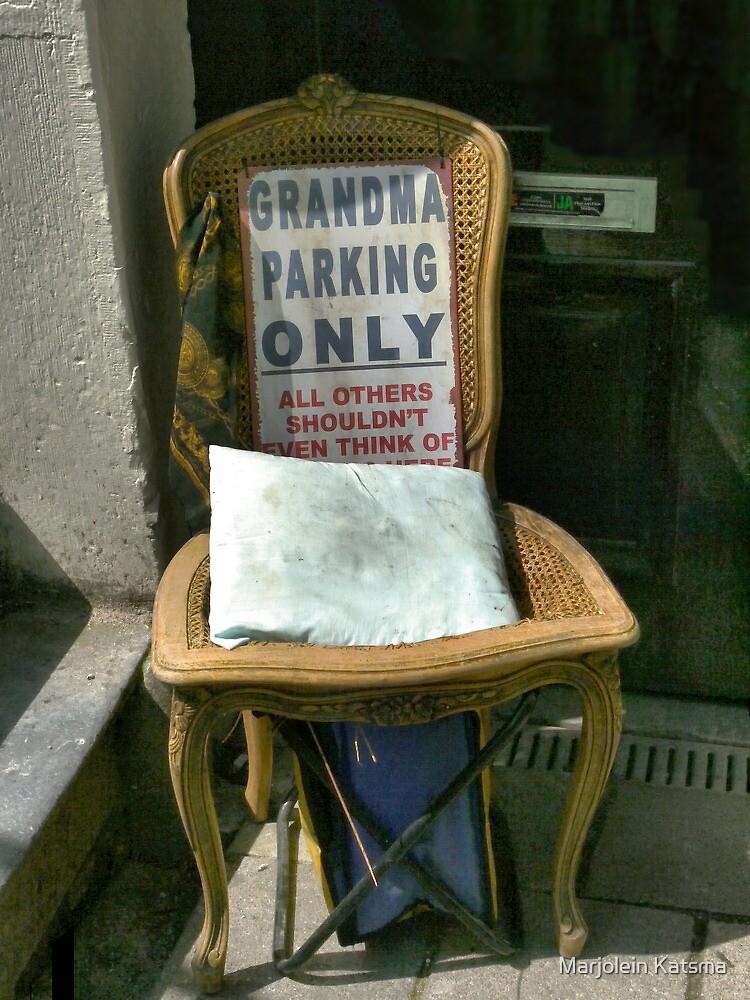 For Grandma by marjoleink