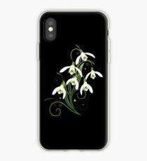 Schneeglöckchen Frühling Blumen Spring Flowers iPhone-Hülle & Cover