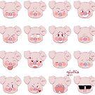 Cutie Pig by liajung