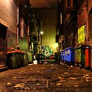 Sniders Lane - Melbourne by Jon Staniland