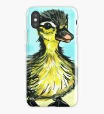 Cute baby duckling iPhone Case