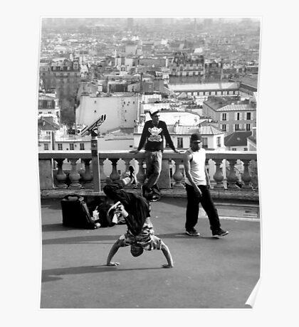 Street Dancers Poster