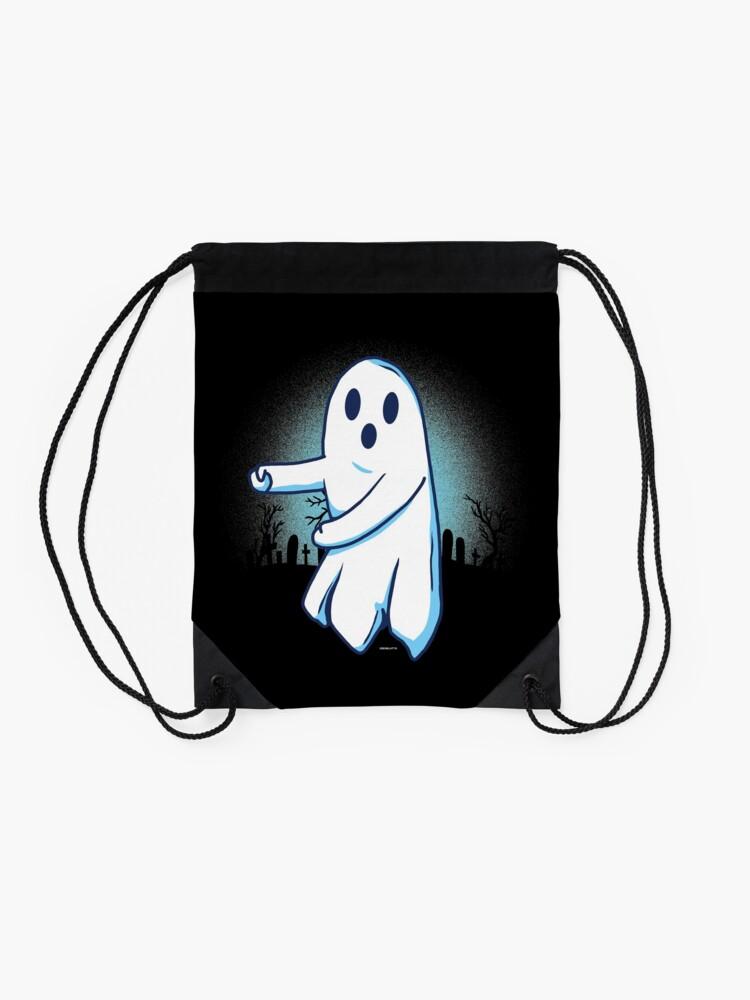 Alternative Ansicht von Ghost floss Halloween gift Turnbeutel