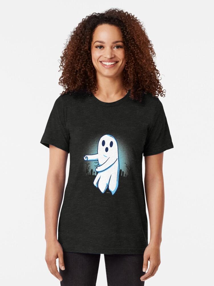 Alternative Ansicht von Ghost floss Halloween gift Vintage T-Shirt