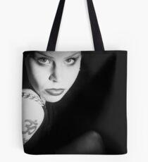Marcina in Black Tote Bag