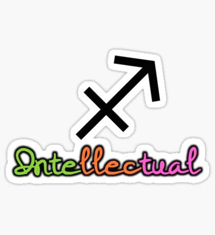 Sagittarius Upfront Sticker