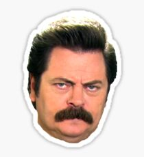 Ron face Sticker