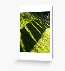 Drying Green Greeting Card