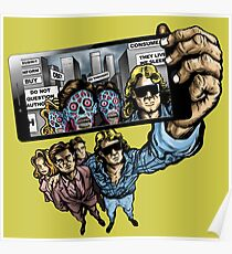 THEY LIVE WE SELFIE Poster