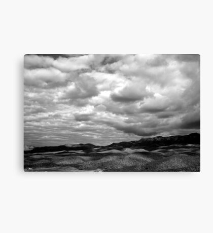 Shadows from the Sky Canvas Print