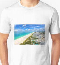 Postcard from South Beach, Miami, Florida Unisex T-Shirt