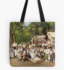 Classy Campers, somewhere in USA, 1915 Tote Bag
