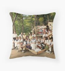 Classy Campers, somewhere in USA, 1915 Throw Pillow