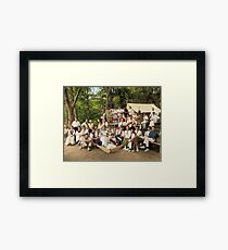 Classy Campers, somewhere in USA, 1915 Framed Print
