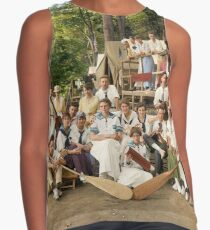 Classy Campers, somewhere in USA, 1915 Sleeveless Top