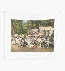 Classy Campers, somewhere in USA, 1915 Wall Tapestry