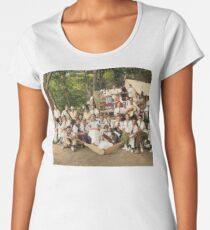 Classy Campers, somewhere in USA, 1915 Premium Scoop T-Shirt