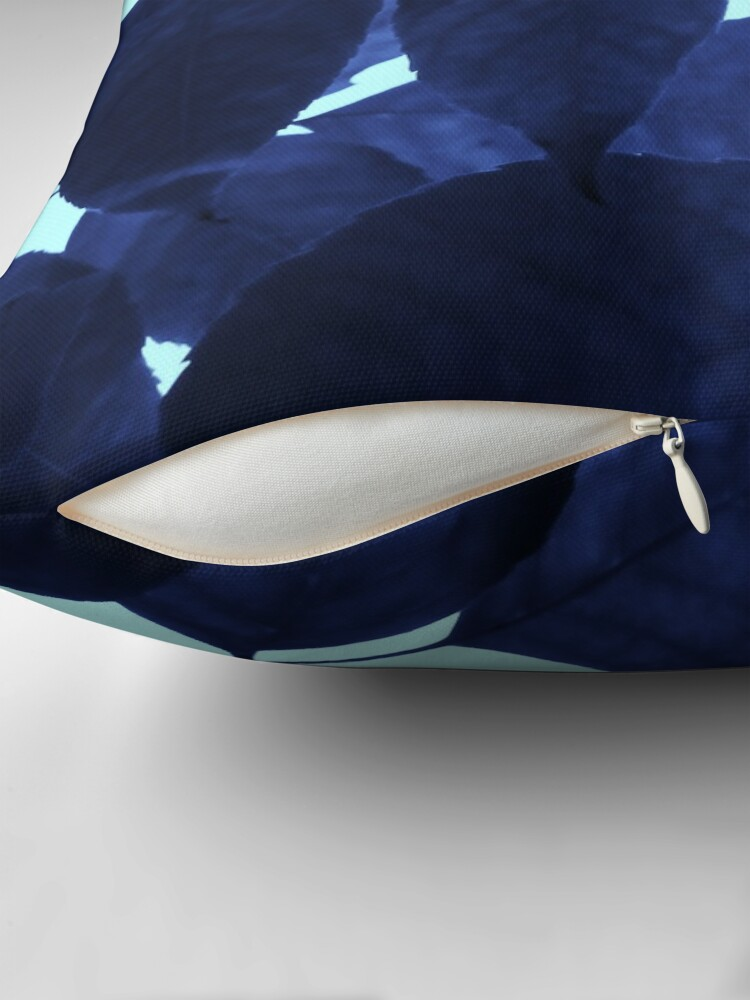 Alternate view of Blue Forest Throw Pillow