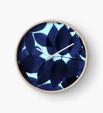 Blue Forest Clock