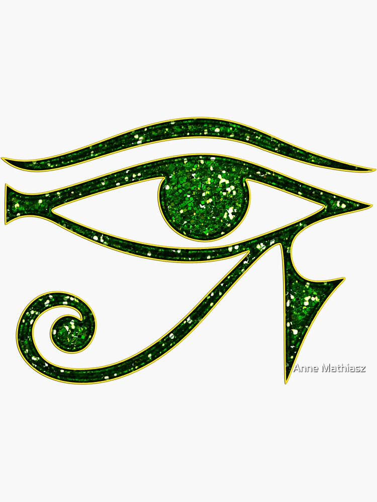 EYE of Horus/ Ra, reverse moon eye of Thoth/ von nitty-gritty