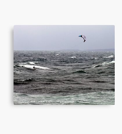 Blown By The Wind Canvas Print