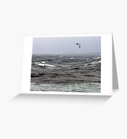 Blown By The Wind Greeting Card