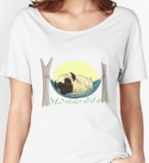 Pug in a Hammock Women's Relaxed Fit T-Shirt
