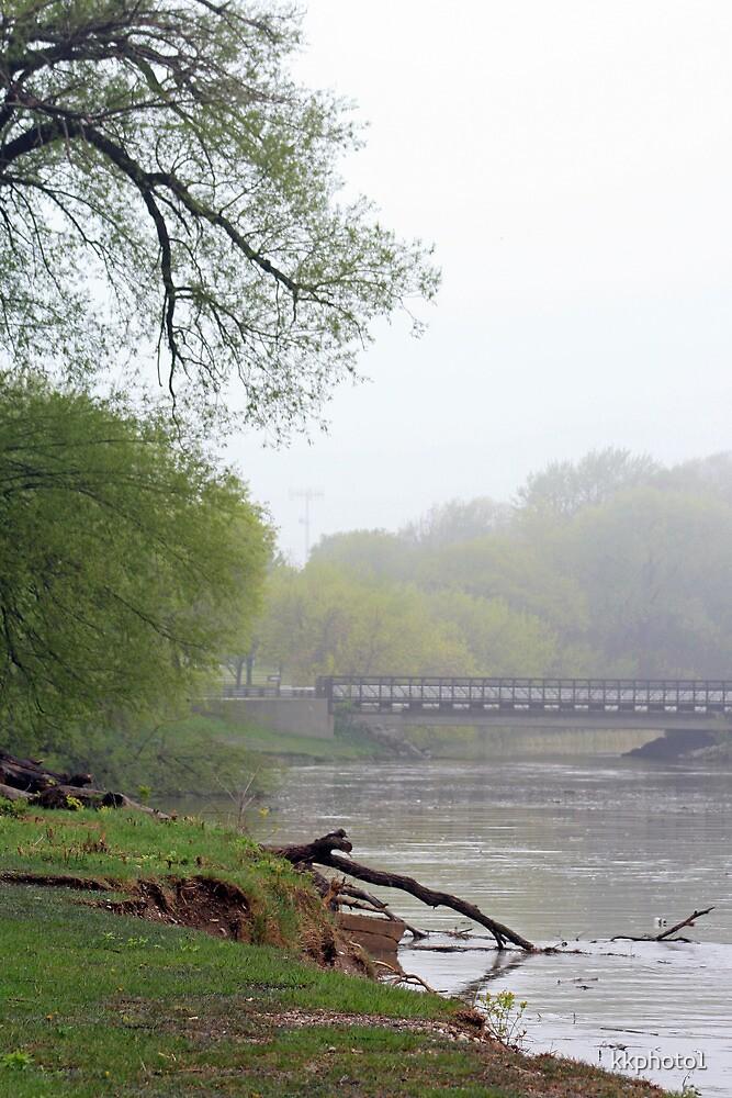 Along The Foggy Shore by kkphoto1