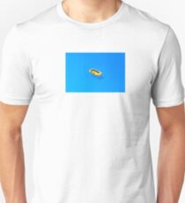 Yellow boat in Saint Tropez Bay, Southern France T-Shirt