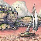 Voyage in Coral by Elisabeth Alba
