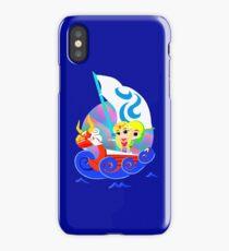 Link and Zelda at Sea iPhone Case/Skin