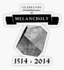 Melancholy Transparent Sticker