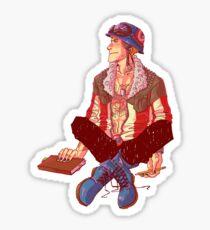 Punk!Cap Sticker